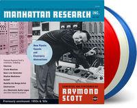 Raymond Scott - Manhattan Research Inc. (Blue) [Limited Edition] [180 Gram] (Wht)