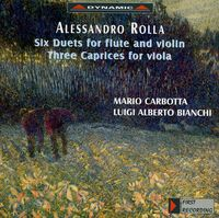 A. ROLLA - Six Duets For Flute & Viola / Three Caprices For