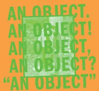 No Age - An Object [Download Included]