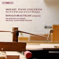 Ronald Brautigam - Piano Cons 18 & 22