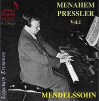 F. MENDELSSOHN - Menahem Pressler