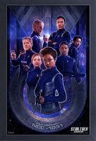 Star Trek: Discovery [TV Series] - Star Trek Discovery Discovery Crew 11x17 Framed Gel Coat Print