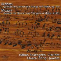 BRAHMS/MOZART - Quintets For Clarinet & String