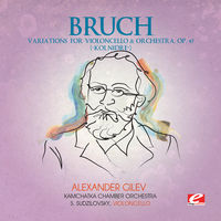 Bruch - Variations for Violoncello Orchestra