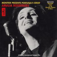 Amalia Rodrigues - At The Olympia Theatre
