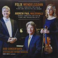 Duo Concertante - Double Concertos For Violin Piano & Orchestra
