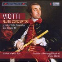 A. ROLLA - Flute Ctos From Violin Ctos Nos 23 & 16