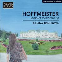 Biliana Tzinlikova - Sonatas For Piano 2