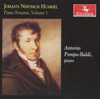 Antonio Pompa-Baldi - Piano Sonatas 1