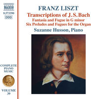 Suzanne Husson - Transcriptions Of J.S. Bach