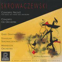 Gary Graffman - Concerto Nicolo / Concerto for Orchestra