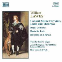 W. LAWES - Consort Music