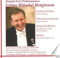 Erling Blöndal Bengtsson - Danish First Performances