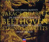 Takács Quartet - Late Quartets