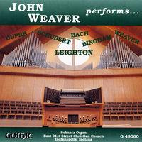 John Weaver - Organ Recital