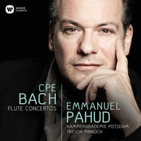 Emmanuel Pahud - Cpe Bach: Flute Concertos