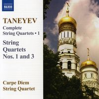Carpe Diem String Quartet - String Quartets 1 & 3: Complete 1