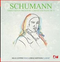 Schumann - Three Fantasy Pieces For Clarinet And Piano Op. 73