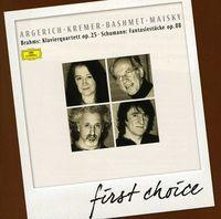 Martha Argerich - First Choice: Piano Quartet Op 25 No 1 Schumann