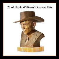 Hank Williams - 20 Greatest Hits [LP]