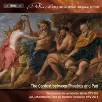 Bach Collegium Japan - Secular Cantatas 9 / Contest Between Phoebus & Pan