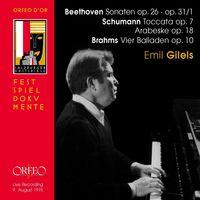 Emil Gilels - Sonaten / Toccata / Arabeske / Vier Balladen
