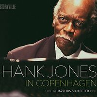 Hank Jones - Live at Jazzhaus Slukefter