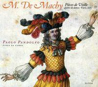 PAOLO PANDOLFO - Mr. de Machy: Pieces de Violle