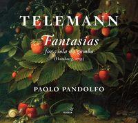 PAOLO PANDOLFO - Fantasias for Viola Da Gamba