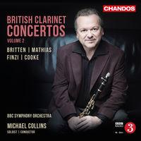 Michael Collins - British Clarinet Concertos 2