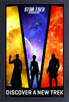Star Trek: Discovery [TV Series] - Star Trek Discovery Discover A New Trek 11x17 Framed Gel Coat Print