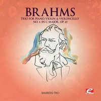 Brahms - Trio Piano Violin Violoncello 2 in C Major