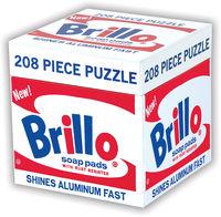 - Andy Warhol 208-PC Brillo Puzzle