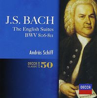 Andras Schiff - J.S.Bach: English Suites