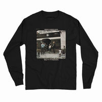 Creedence Clearwater Revival - Creedence Clearwater Revival Willy And The Poor Boys Album Cover Artwork Black Long Sleeve T-Shirt (Large)