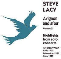 Steve Lacy - Avignon & After Vol 2 (Spa)