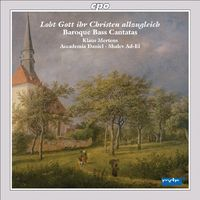 Klaus Mertens - Baroque Bass Cantatas from Cnetral Germany