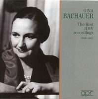 Gina Bachauer - First Hmv Recordings 1949-51
