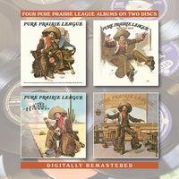 Pure Prairie League - Pure Prairie League / Bustin Out / Two Lane (Uk)