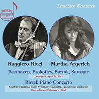 RUGGIERO RICCI - Play Beethoven Prokofiev & More (Jewl)