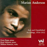 Marian Anderson - Rare & Unpublished Recordings 1936-1952