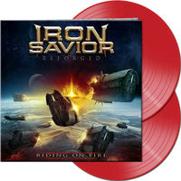 Iron Savior - Reforged - Riding On Fire (Gate) [Limited Edition] (Red)