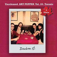 Art Pepper - Unreleased Art Pepper 10: Toronto 1977