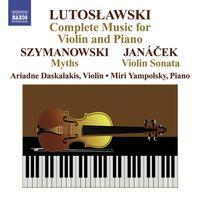 Ariadne Daskalakis - Complete Works for Violin & Piano