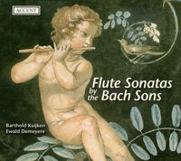 BARTHOLD KUIJKEN - Flute Sonatas By the Bach Sons