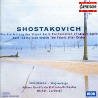 Goldschmidt/Schulhoff - Execution Of Stepan Razin