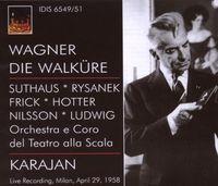 F. LISZT - Wagner, R.: Walkure (Die) [Opera] (Karajan) (1958)