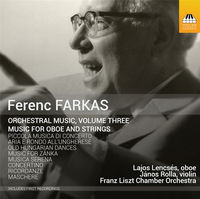LAJOS LENCSES - Orchestral Music 3