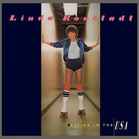 Linda Ronstadt - Living In The U.S.A. [Limited Anniversary Edition Transparent Blue LP]