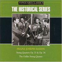J. HAYDN - Haydn: String Quarterts Op 71 & Op 74 [Remastered]